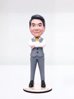 남성 정장 조끼 스타일 <BR>- 퇴직선물,퇴임선물,승진선물,감사패,부모님퇴직선물