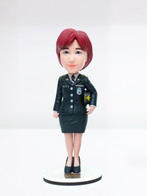 여성 경찰 정복 <BR>- 퇴직선물,전출선물,승진선물,감사패