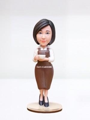 여성 바리스타 <BR>- 개업선물,카페개업