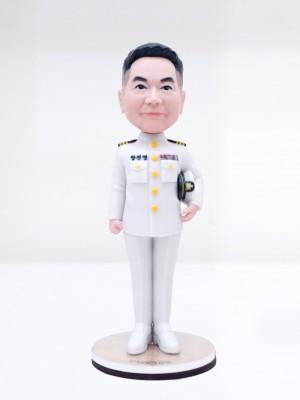 남성 해군 정복 <BR>- 퇴직선물,전출선물,승진선물,감사패,부모님퇴직선물