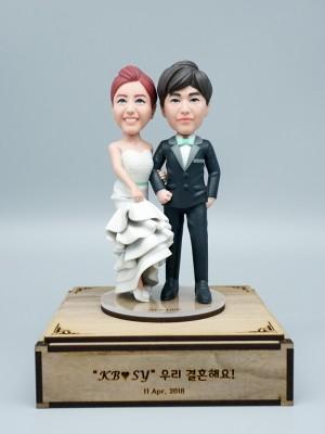 Wedding Day <BR>- 웨딩 피규어,커플 피규어,프로포즈 선물,결혼기념일 선물