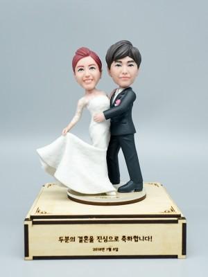 Shall We Dance <BR>- 웨딩 피규어,커플 피규어,프로포즈 선물,결혼기념일 선물