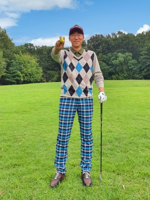 남성 골퍼 커스텀 디자인 <BR>- 골프 트로피,홀인원 피규어,이글패,싱글패
